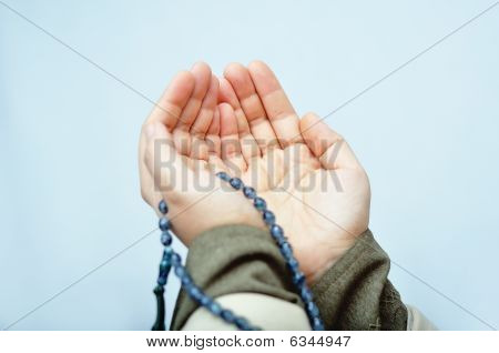 Muslim Praying Hands