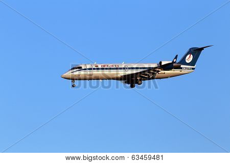Belavia Canadair CL-600-2B19 Regional Jet CRJ-200ER aircraft