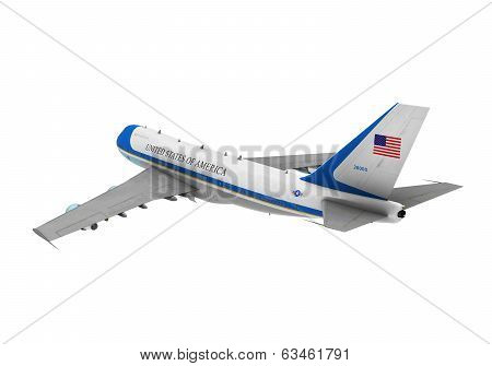 Air Force One Isolated