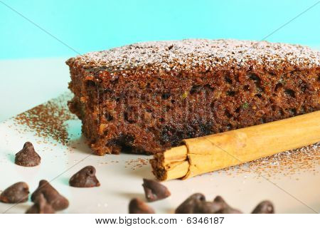Chocolate Zucchini Bread 6461 Blue