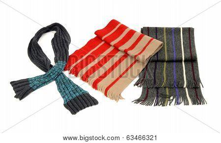 Men's winter scarves