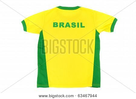Brasil man football t-shirt.