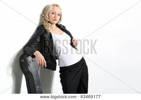 Sexy guitarist.