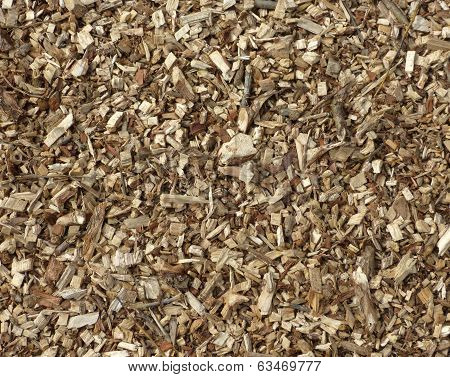 Wood chipping background