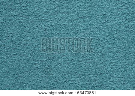 Turquoise Texture Of Fleecy Fabric