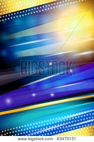 Bright background print