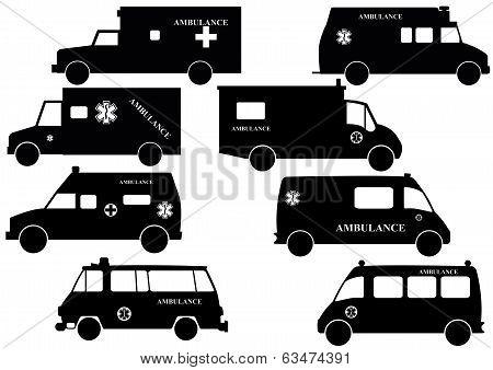 Ambulance-Silhouette