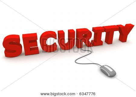 Browse With Red Security - Grey Mouse