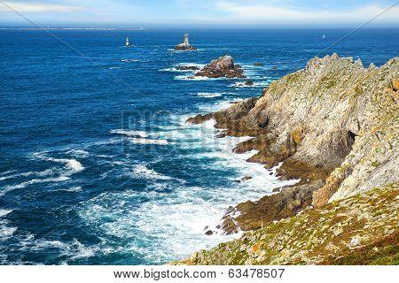 Cape Sizun, Pointe du Raz.