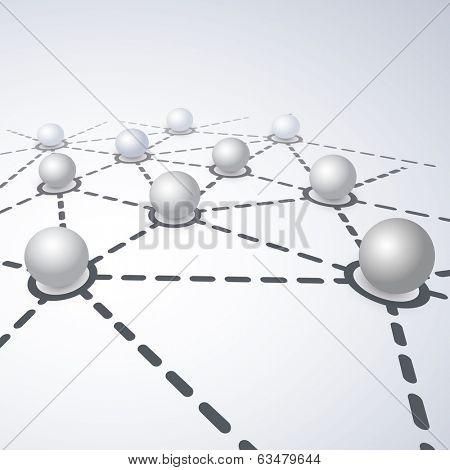 Network Concept - Globe Design