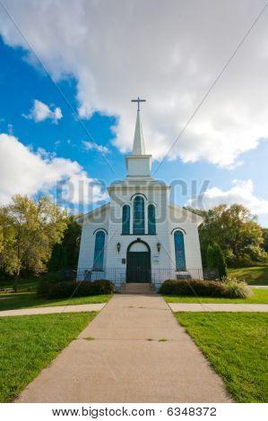 alte Vintage Kirche