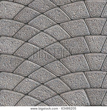 Concrete Granular Pavement. Seamless Tileable Texture.