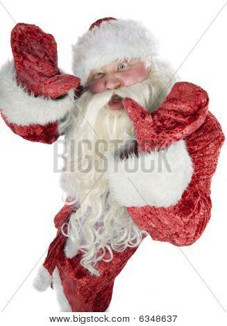 Santa Claus Contorts Funny Mug