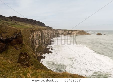 Coastline Of Northern Ireland Antrim