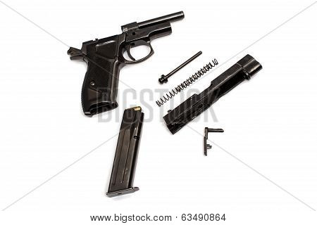Handgun  Isolate
