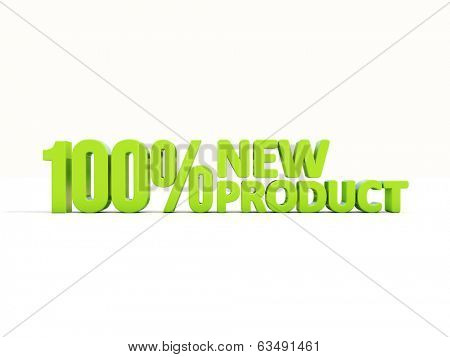 New Product icon on a white background. 3D illustration