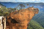stock photo of cliffs  - Hanging Rock in the Blue Mountains Australia - JPG
