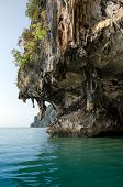 pic of james bond island  - The Cave of James Bond Island in Phang Nga Thailand - JPG