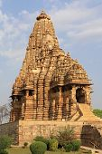 stock photo of khajuraho  - One of the temples in Khajuraho of India - JPG