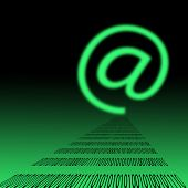 E-mail Symbol poster