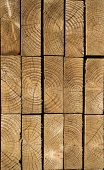 pic of 2x4  - Stack of wood planks in a lumbar yard textures - JPG