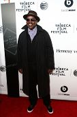 NEW YORK-APR 16: Fab 5 Freddy attends the world premiere of