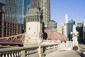 Historic Bridge In Chicago poster