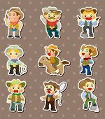 foto of bronco  - Cowboy Stickers - JPG