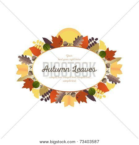 Autumn Ornaments - Leaves and Harvest Moon (2)