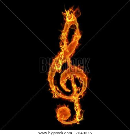 Burning Music Key