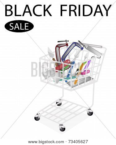 Builder Tools in Black Friday Shopping Cart