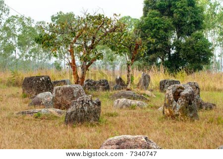 Plain Of Jars, Phonsavan, Laos.
