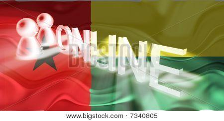 Flag Of Guinea Bissau Wavy Online