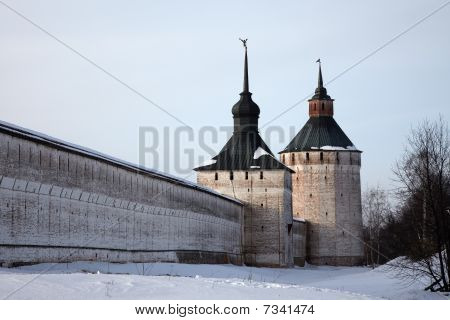 Kirillo-belozersky Orthodox Monastery Citadel, Russia