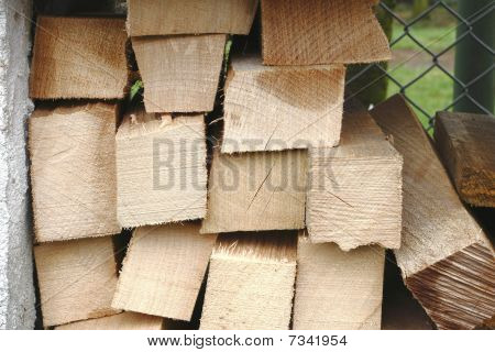 wood - piles of wood