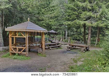 Beauty nook for respite in the Vitosha mountain