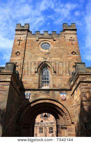Durham Castle Gate