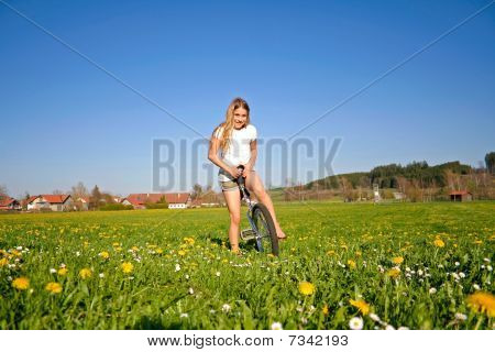 Girl In Field