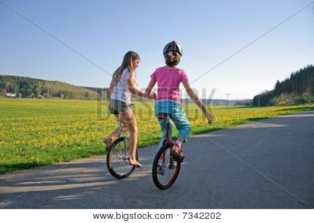 Unicycle Friends