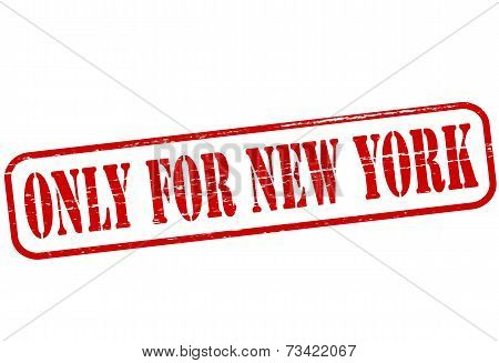 Only For New York