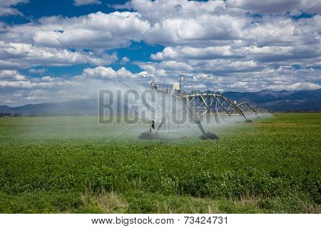 Center Pivot Agricultural Irrigation System