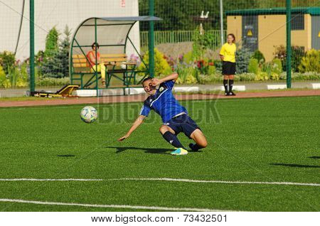 Pushkareva Marina (16), Defender, Fall Down