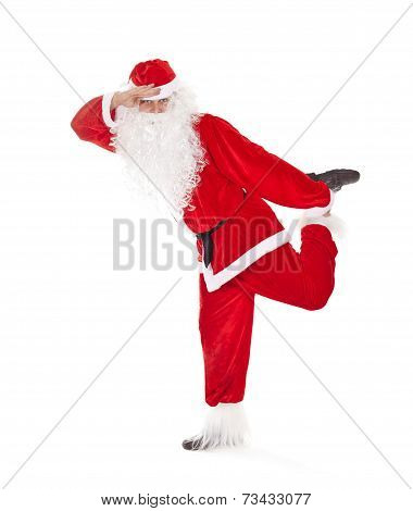 Santa Claus Having Fun