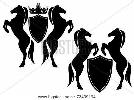 Horses With Shields