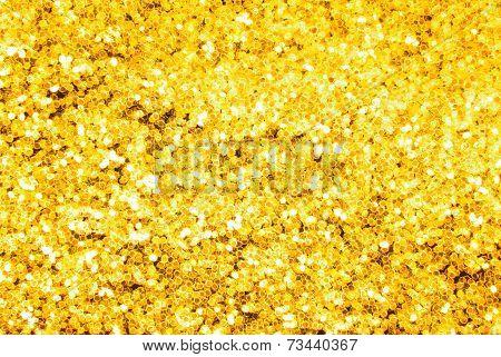 golden glitter sparkle background
