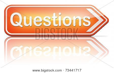 questions and solutions need serious answers helps or support desk information answer question with text and word concept