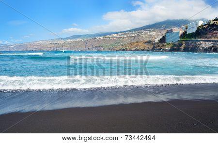 Puerto De La Cruz Beach