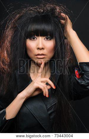 fashion asian woman