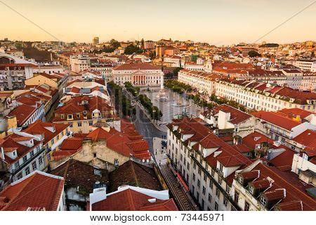 Lisbon , Rossio Square