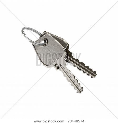 Two keys on a ring